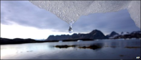 Melting ice, AP