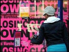 Closing down sale in Wigan
