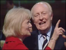 Lord Kinnock and wife Glenys