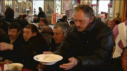Bbc News Europe Feeding The Hungry In Russia