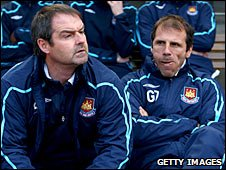 Steve Clarke and Gianfranco Zola