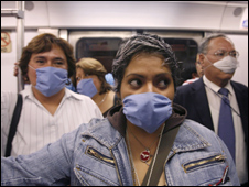 _45701560_masks_ap226index - Mexico Swine Flu Deaths Spark Concerns of Global Epidemic   - Philippine Business News