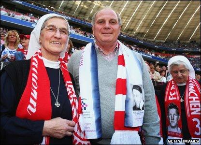 Bayern Munich manager Uli Hoeness