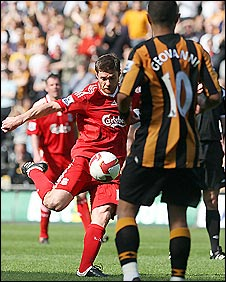 Xabi Alonso powers Liverpool into the lead as he helps Liverpool to a win over Hull