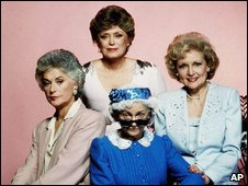 An undated photos shows the Golden Girls: (clockwise from left) Bea Arthur, Rue McClanahan, Betty White and Estelle Getty