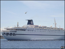 Melody cruise ship. File photo