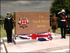 National Firefighters Monument