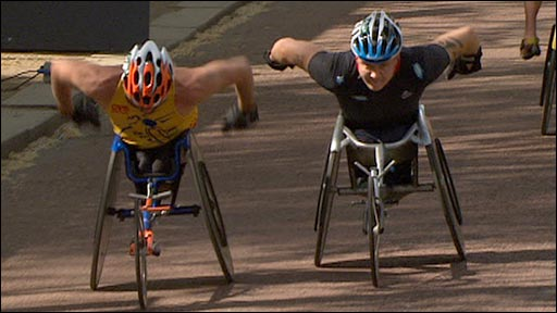 David Weir and Kurt Fearnley