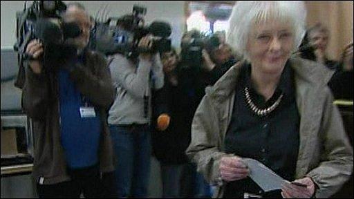 Leader of the Social Democratic Alliance Johanna Sigurdardottir