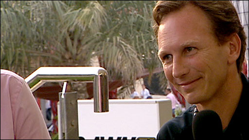Red Bull Racing team boss Christian Horner