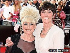 EastEnders stars Barbara Windsor and June Brown at the Bafta TV Awards