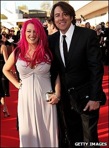 Jonathan Ross and wife Jane
