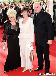 EastEnders stars Barbara Windsor, June Brown and Ross Kemp