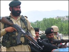 Troops in Lower Dir