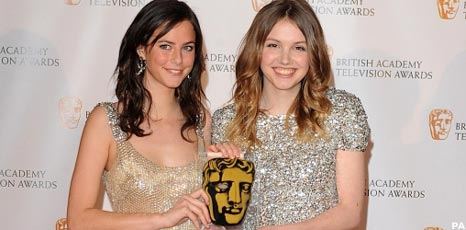 Skins stars Kaya Scodelario and Hannah Murray