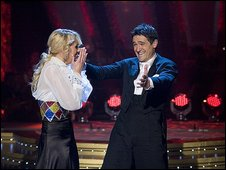 Camilla Dallerup and Tom Chambers