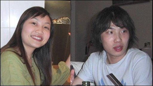 Xi Zhou and her boyfriend, Zhen Xing