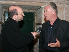 Derek Acorah and Giancarlo Rinaldi
