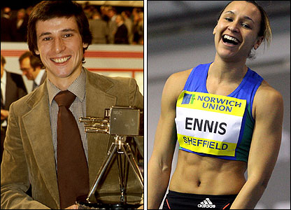 Lord Coe and Jessica Ennis