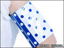 New design for blood pressure cuff