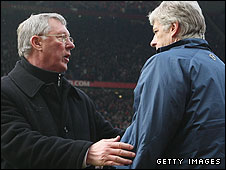 Sir Alex Ferguson and Arsene Wenger