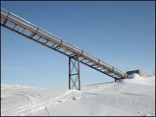 Coal mine Ny-Alesund