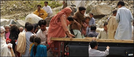 Civilians in Lower Dir, Pakistan