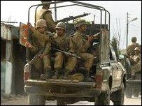 Soldier in Lower Dir