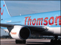 A Thomsonfly plane