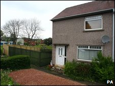 Mr and Mrs Askham's home in Polmont