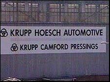 Krupp Camford Pressings
