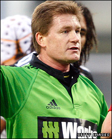 Australian referee Stuart Dickinson
