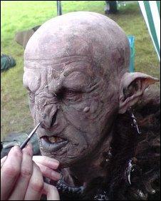 Orc make-up