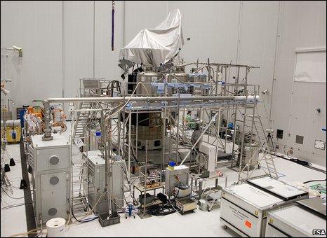 Herschel is filled with helium (Esa)