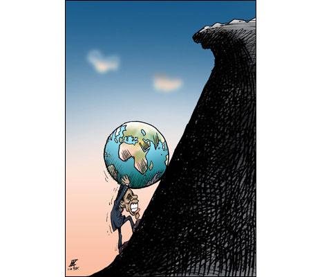 Cartoon by NIKAHANG KOWSAR