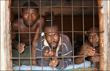 Prisoners in Enugu Asylum