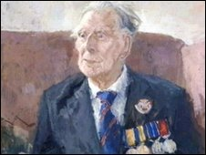 Portrait of Harry Patch