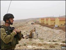 Israeli settlement of Carmel near Hebron