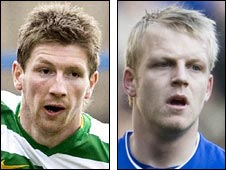 Mark Wilson and Steven Naismith