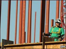 Construction worker in Los Angeles