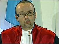 دانيال فرانسين، قاضي الإجراءات التمهيدية في المحكمة الدولية في اغتيال الحريري