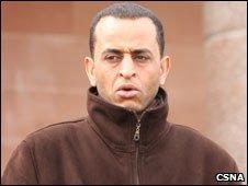 Faraj Mohamed. Pic by Central Scotland News Agency
