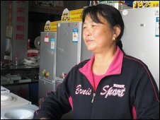 Fridge seller Li Rongxiu