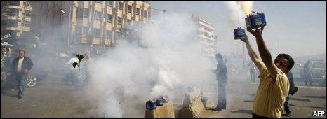 Fireworks in Beirut, 29/04