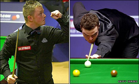 Mark Allen and Jamie Cope