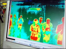 thermal imaging screen