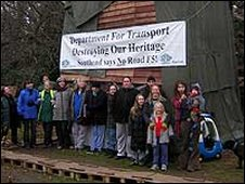 Photocall at the camp