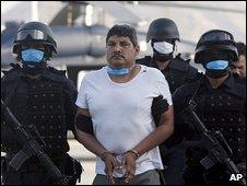Gregorio Sauceda Gamboa arrives in Mexico City