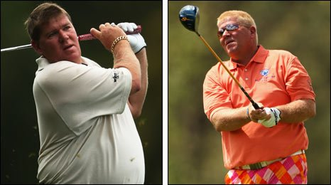 John Daly before and after his surgery