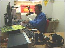 Carlos Zaha, radio broadcaster